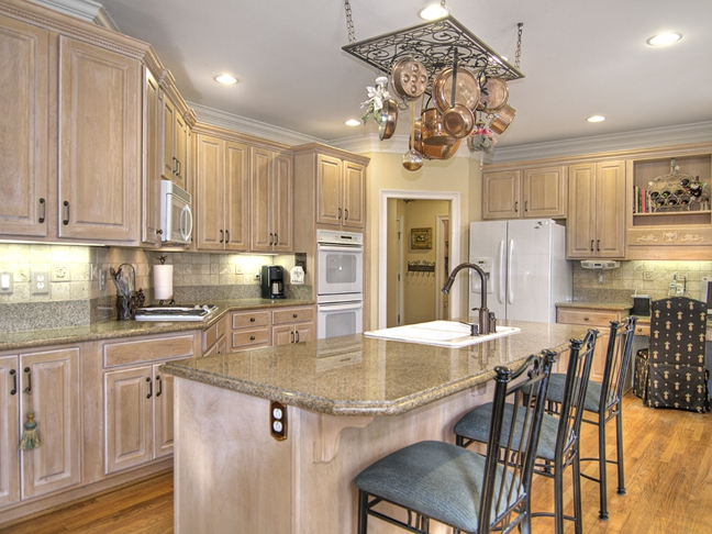 White appliances in Upscale homes for sale in Charlotte NC