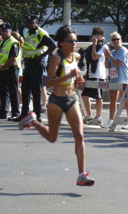 Elva Dryer - 2nd Place Woman in New Haven 20k - 2007