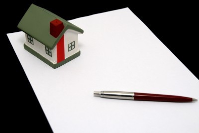 House with a pen