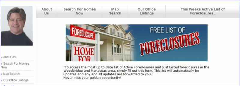 how to search for local foreclosures