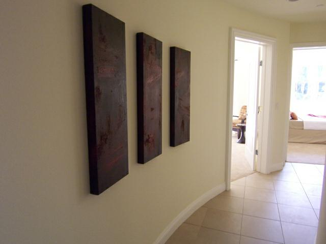 Home staging solution for curved walls for Curved wall