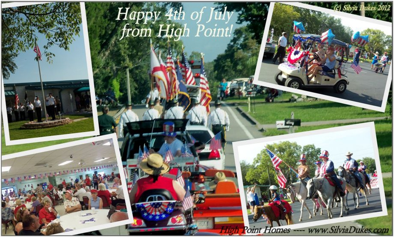 High Point Community 4th July 2012 parade by Silvia Dukes