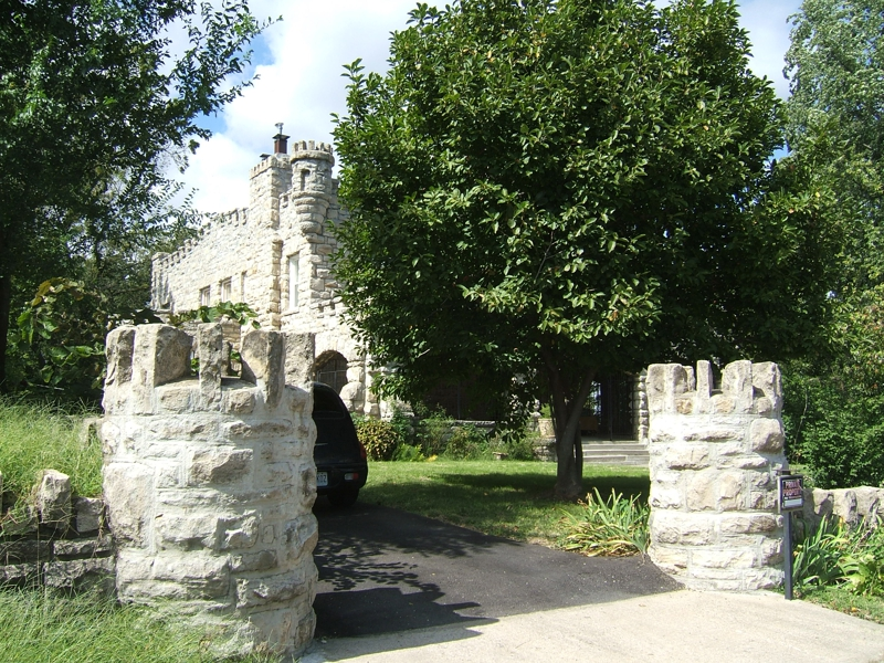 castle in Old NE Kansas City