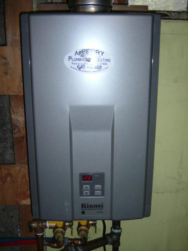 Tankless Water Heater Radiant Heating Diagram