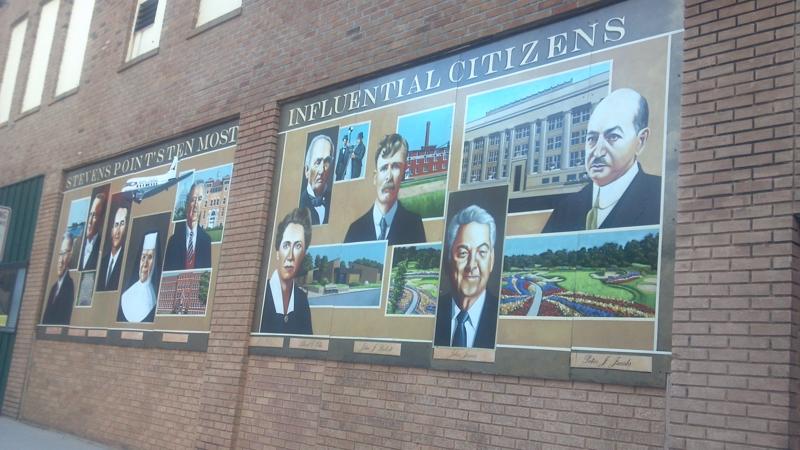 Stevens Point murals