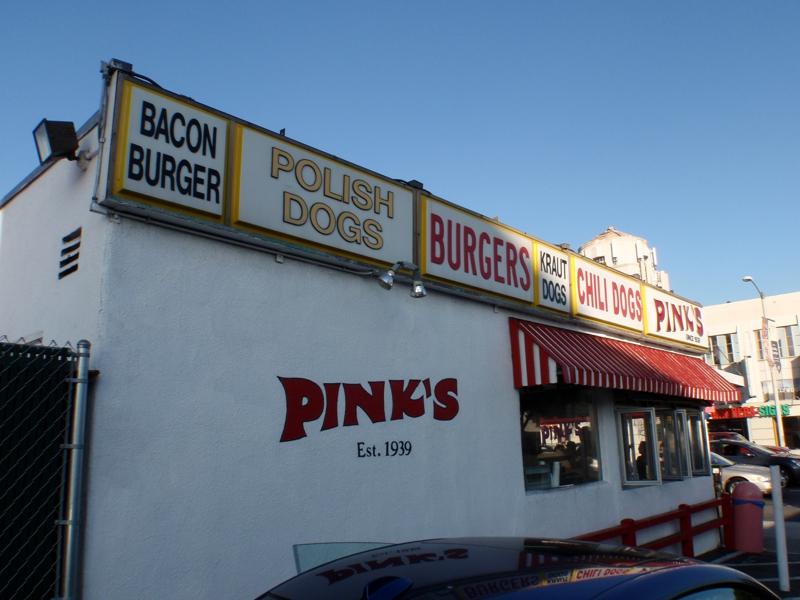 Pink's a Destination Place