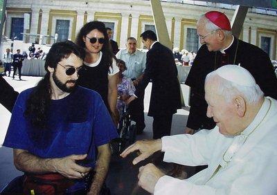David meeting Pope
