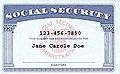 Social Security Card, Identity Theft, Identification, ID,