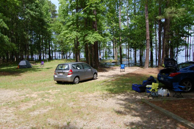 best sneakers cc8b7 290c0 Jordan Lake Camping - Parkers Creek Campground - Best Places to Camp in the  Raleigh Area!