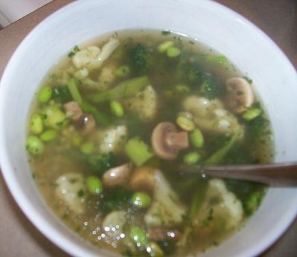 edamame soup