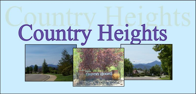 Country Hieghts Year Over Year Comparable YTD 7/31/2010