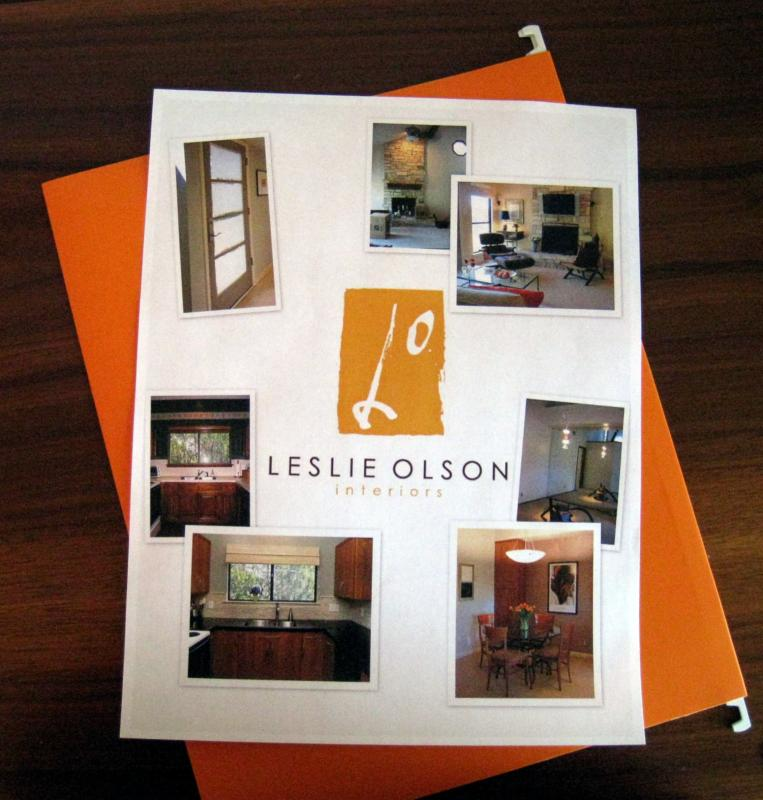 Realtor Presentation - Picasa Staging Flyer - Leslie Olson Interiors