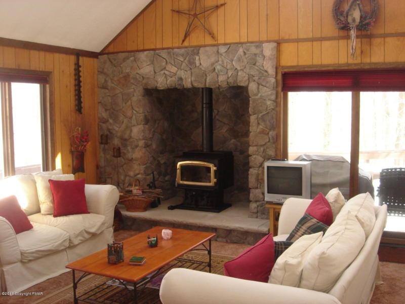 Big Bass Lake Fireplace