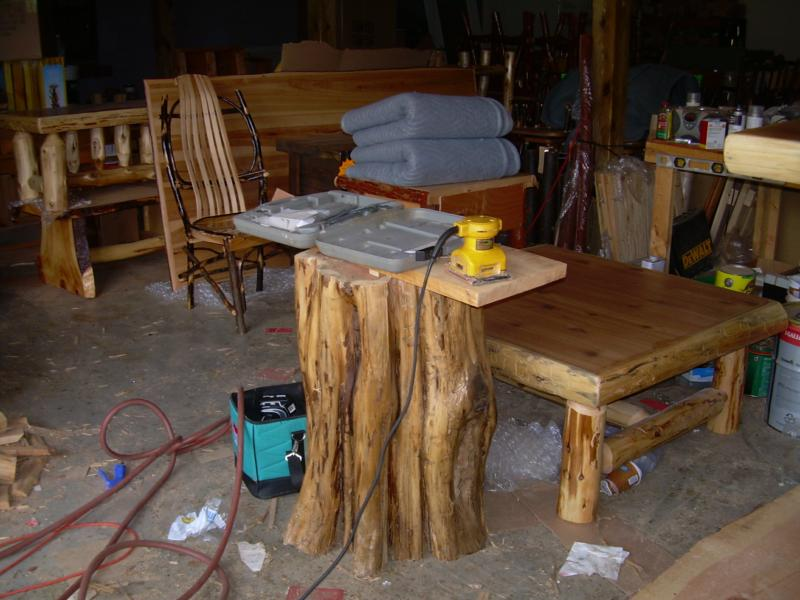 Perfect Itu0027s Truly A Family Run Business. In The Adjoining Woodworking Shop, 16  Year Old Son Tony Michael Is Adding Trim To A Special Order And A Massive  Tree Trunk ...
