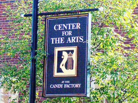 Center For The Arts Sign
