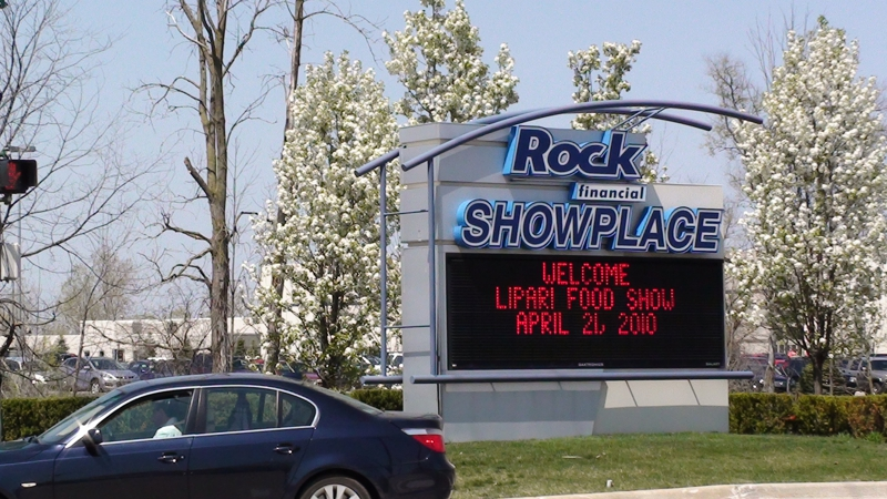 ROCK FINANCIAL SHOWPLACE NOVI MICHIGAN