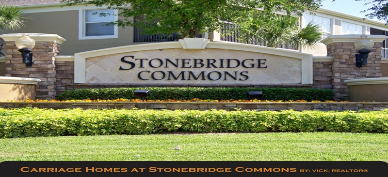 CARRIAGE HOMES AT STONEBRIDGE COMMONS, ORLANDO, FL, 32819