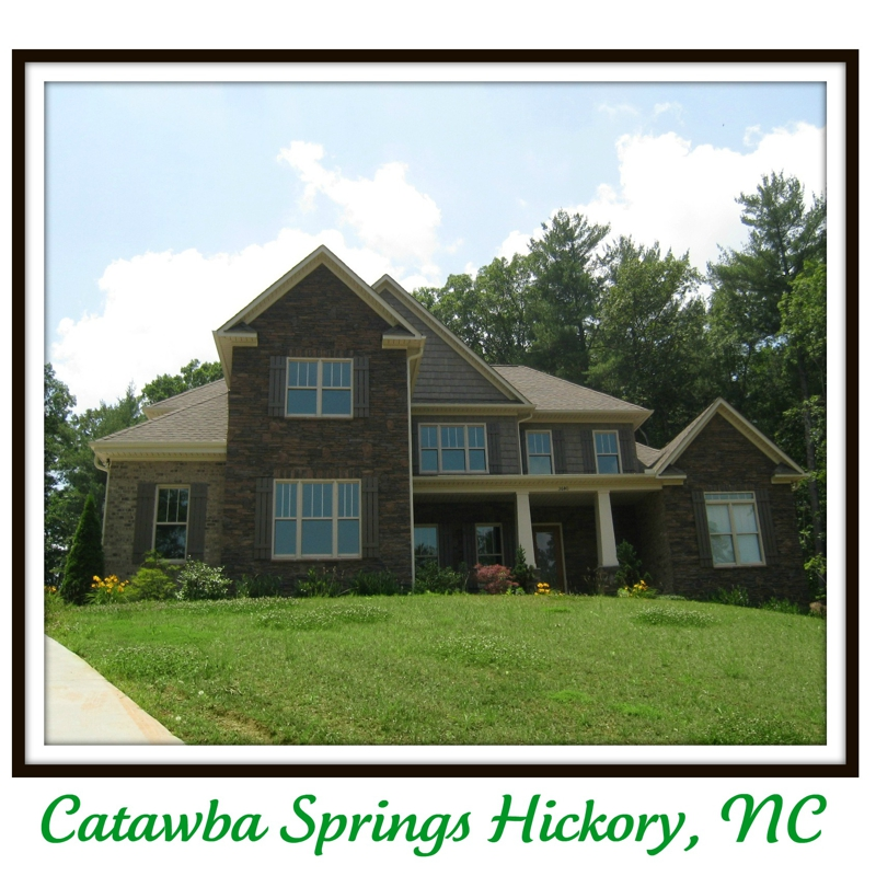 Catawba springs homes for sale in hickory nc for Home builders in hickory nc
