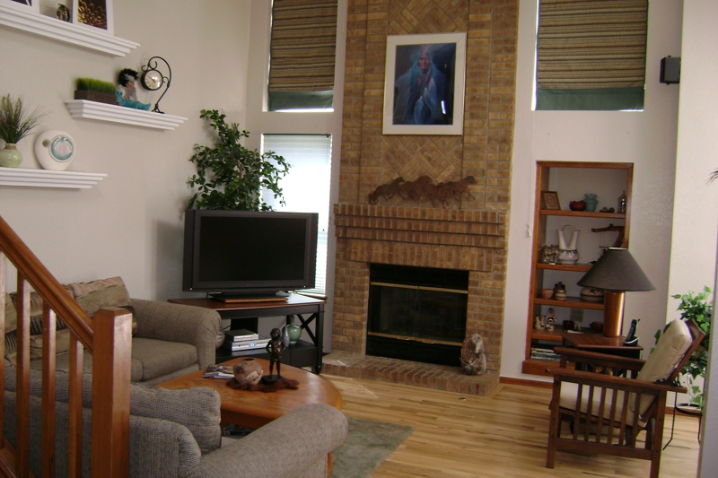 Professionally Stage Family Room