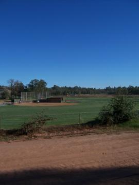 Ball field, Howard Park, Ione, CA.
