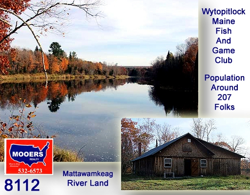 Maine waterfront property watch video on wytopitlock me for Maine fish and game