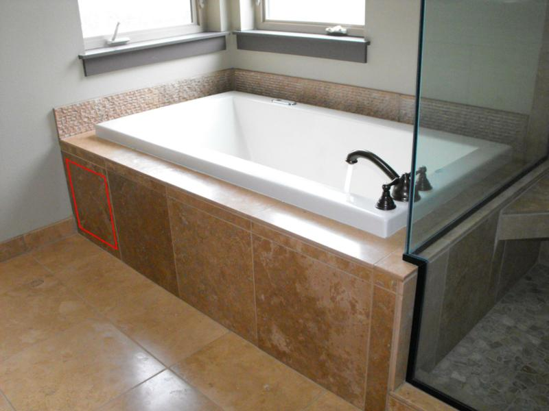Functional Esthetics It Would Be Nice Any Pix Of Whirlpool Tub Access Panel Fine Homebuilding