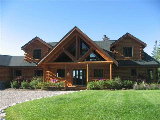 Mullett Lake Log Home
