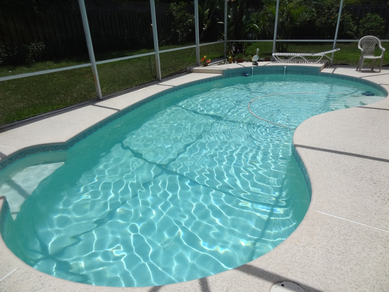 port st. lucie pool home