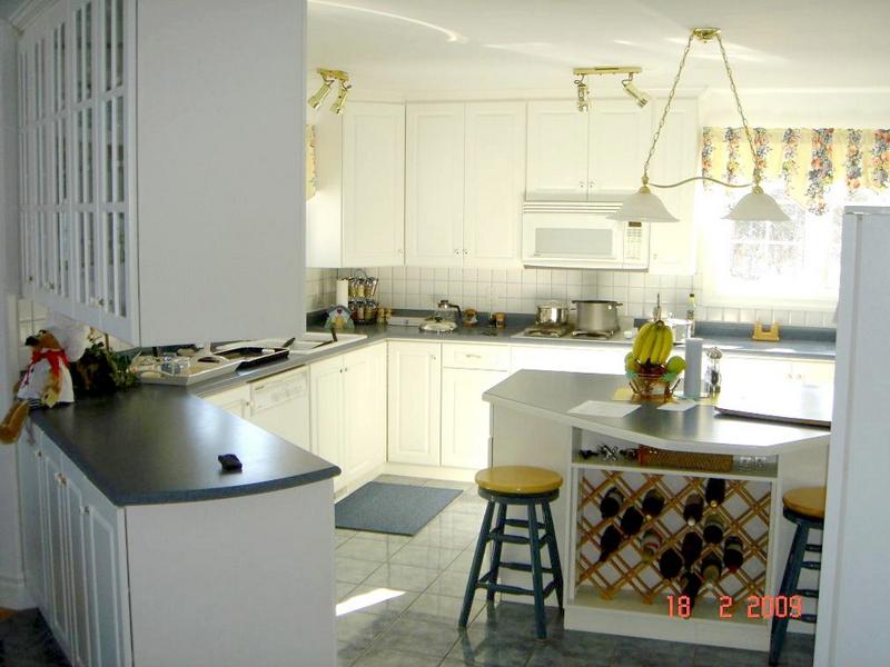 Porter's Lake kitchen