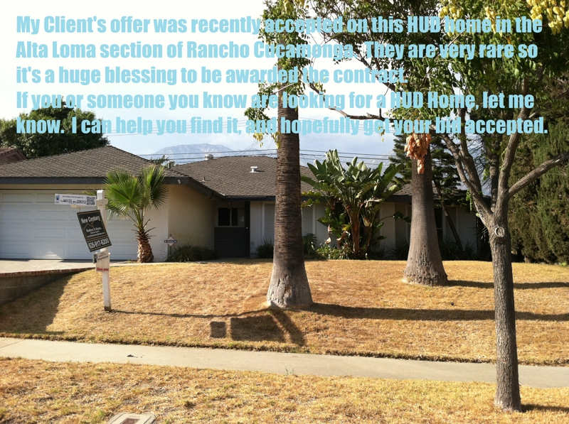 hud home rancho cucamonga for sale