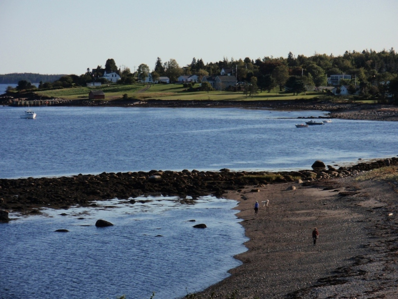Beach at Dublin Bay LaHave Nova Scotia