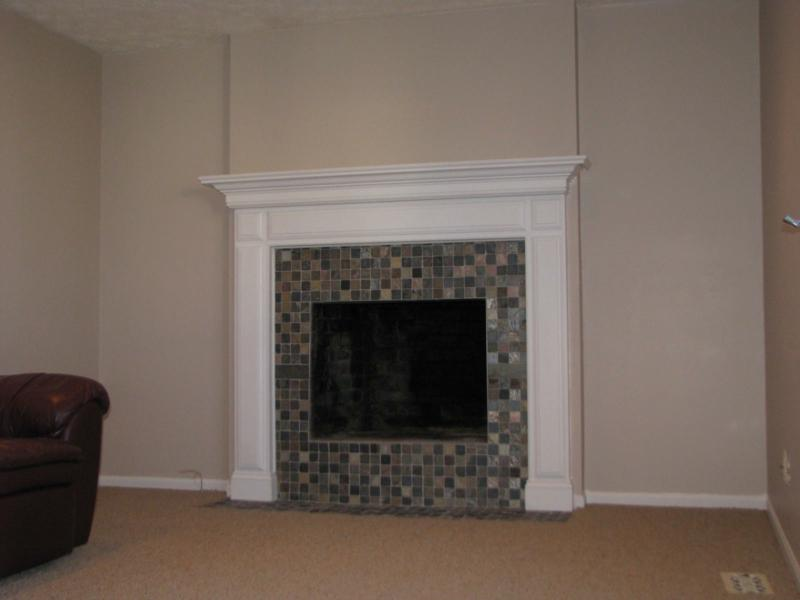Before And After Fireplace Photos Add Space And Value To Your Home Remodeled Brick Fireplace