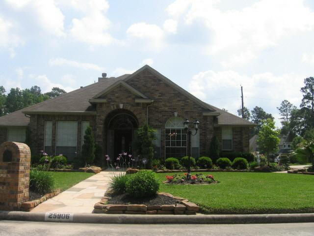 One story home in Coventry at Augusta Pines in Spring Texas