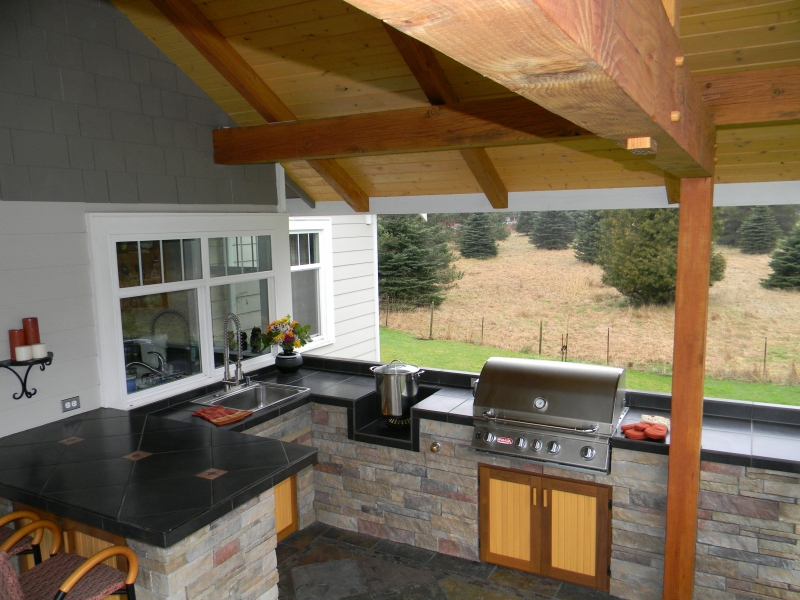 Outdoor Kitchens by Mark Palmer, Bellingham, WA