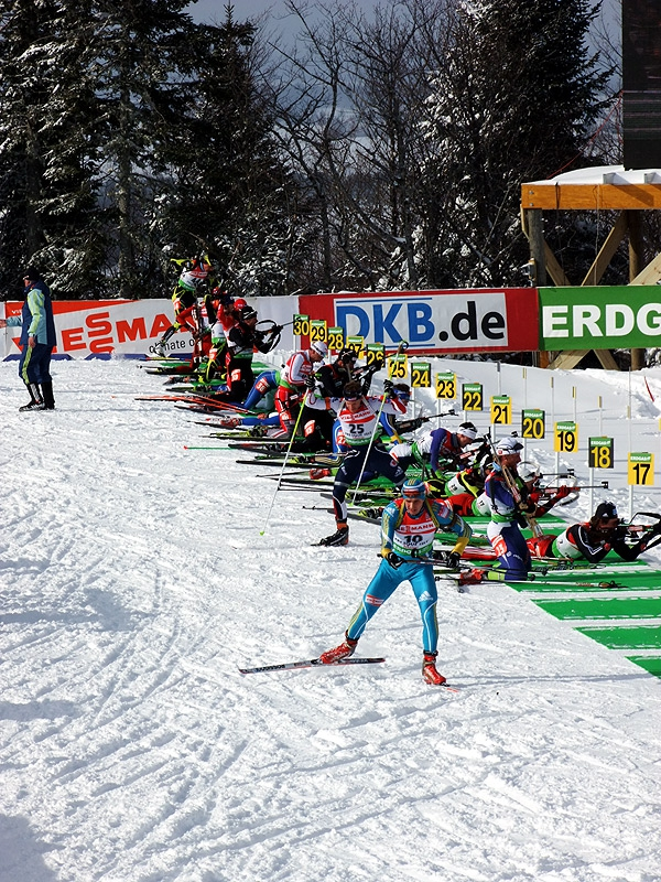 world cup biathlon pursuit event