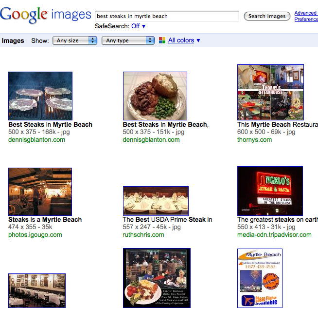 The Importance of Google Image Search