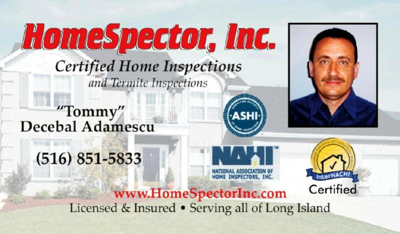Long Island Home Inspections for Nassau county, Suffolk & Queens, NY-Certified Home Inspectors for Long Island NY