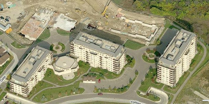 Aerial Shot of Dayspring Buildings