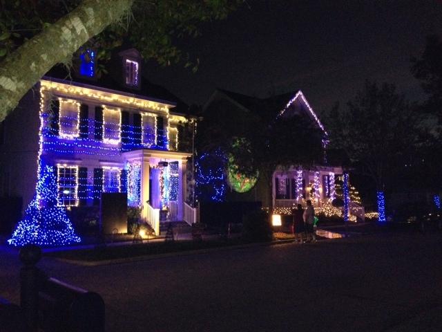 Dancing Christmas Lights on Jeater Bend in Celebration FL