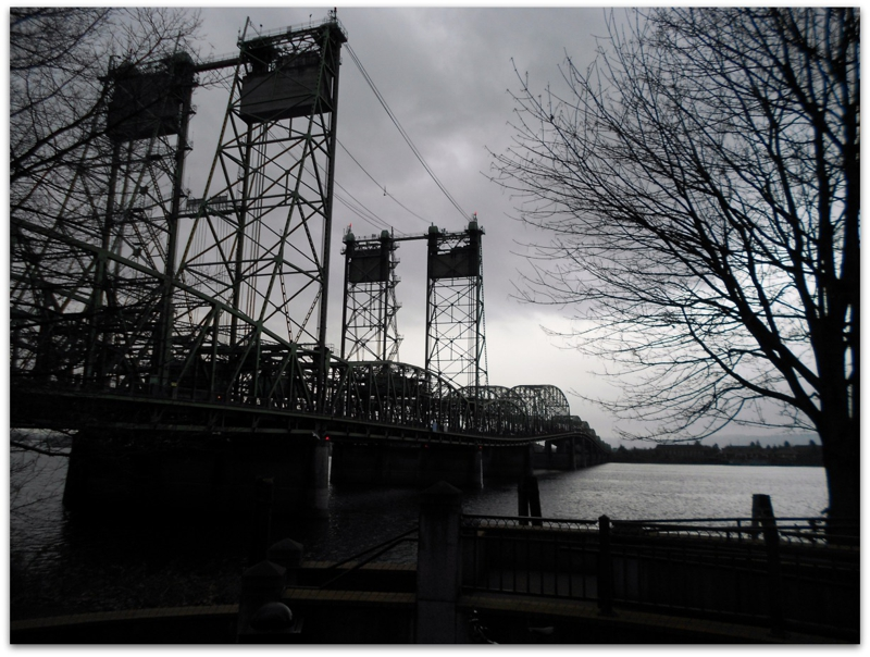 The I-5 Bridge over the Columbia River, Vancouver Washington 2012