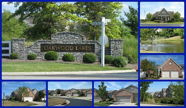Oakwood Lakes condo community of Mason Ohio 45040