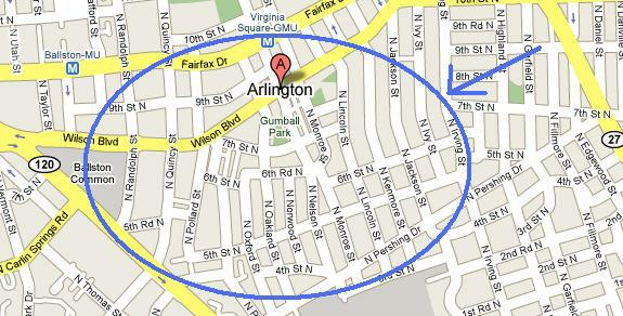 Ashton Virginia Map.Neighborhood Spotlight Ashton Heights In Arlington Va