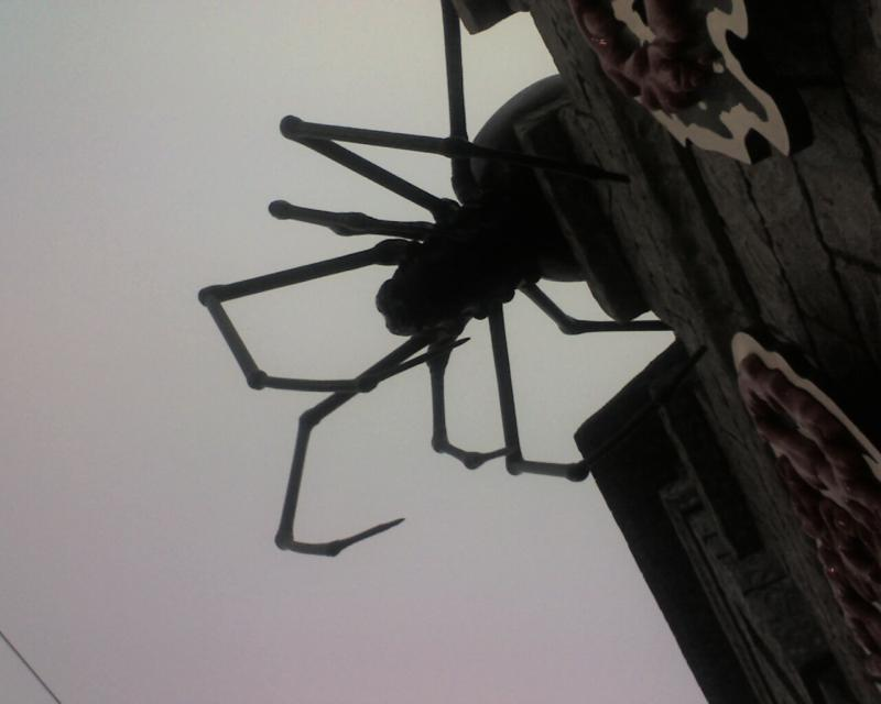 Spider from The Haunted House at the Boardwalk in Santa Cruz