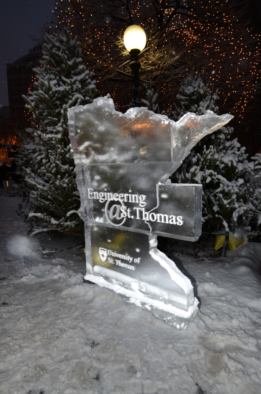 Winter Carnival Ice Sculptures at Rice Park in St. Paul