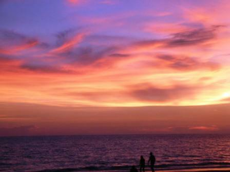These colors are real Treasure Island sunset