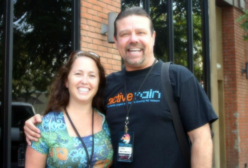 Christine and Active Brad RE Bar Camp San Diego