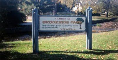 Brookside Park near Whitestone Gardens Bloomfield NJ