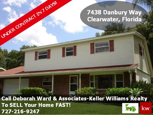 UNDER CONTRACT! 7438 Danbury Way, Clearwater, FL