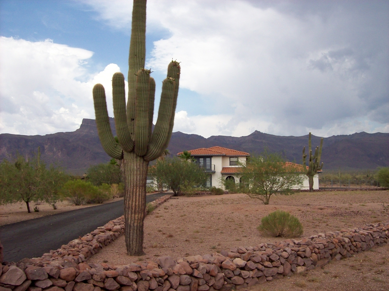 Superstition Mountain View Home
