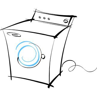 Venting Clothes Dryer Clip Art